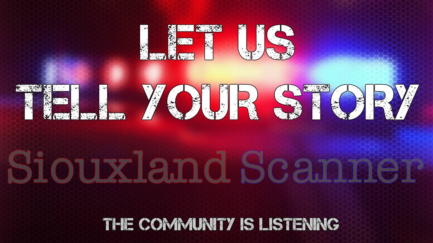 Tell your story the community is listening
