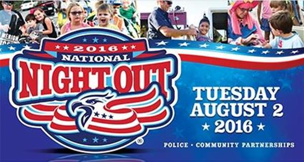 Go meet your neighbors National Night Out Tuesday August 2nd