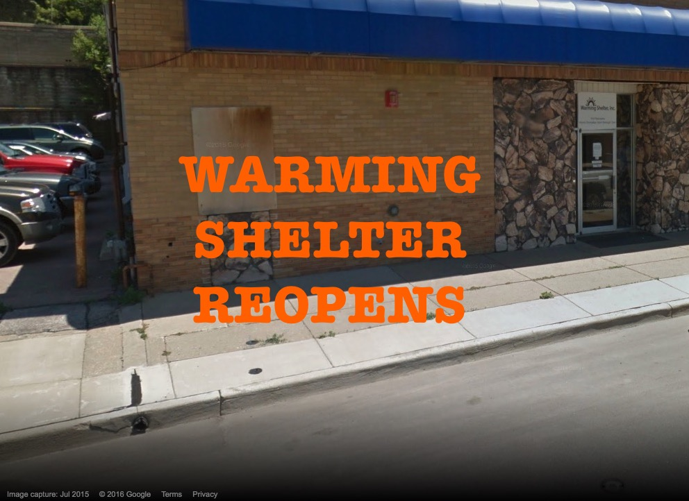 Sioux City Warming Shelter reopens for winter months