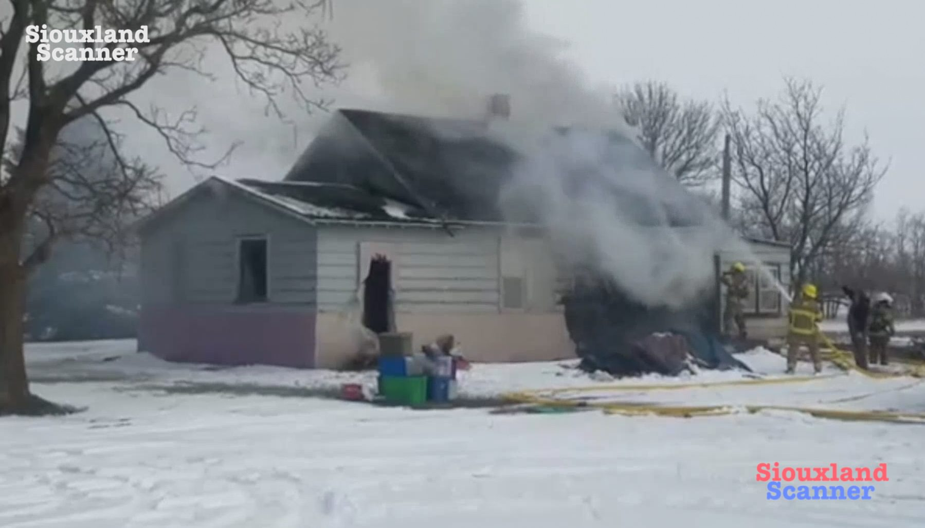 Rural Jefferson House Fire a total loss Tuesday Morning