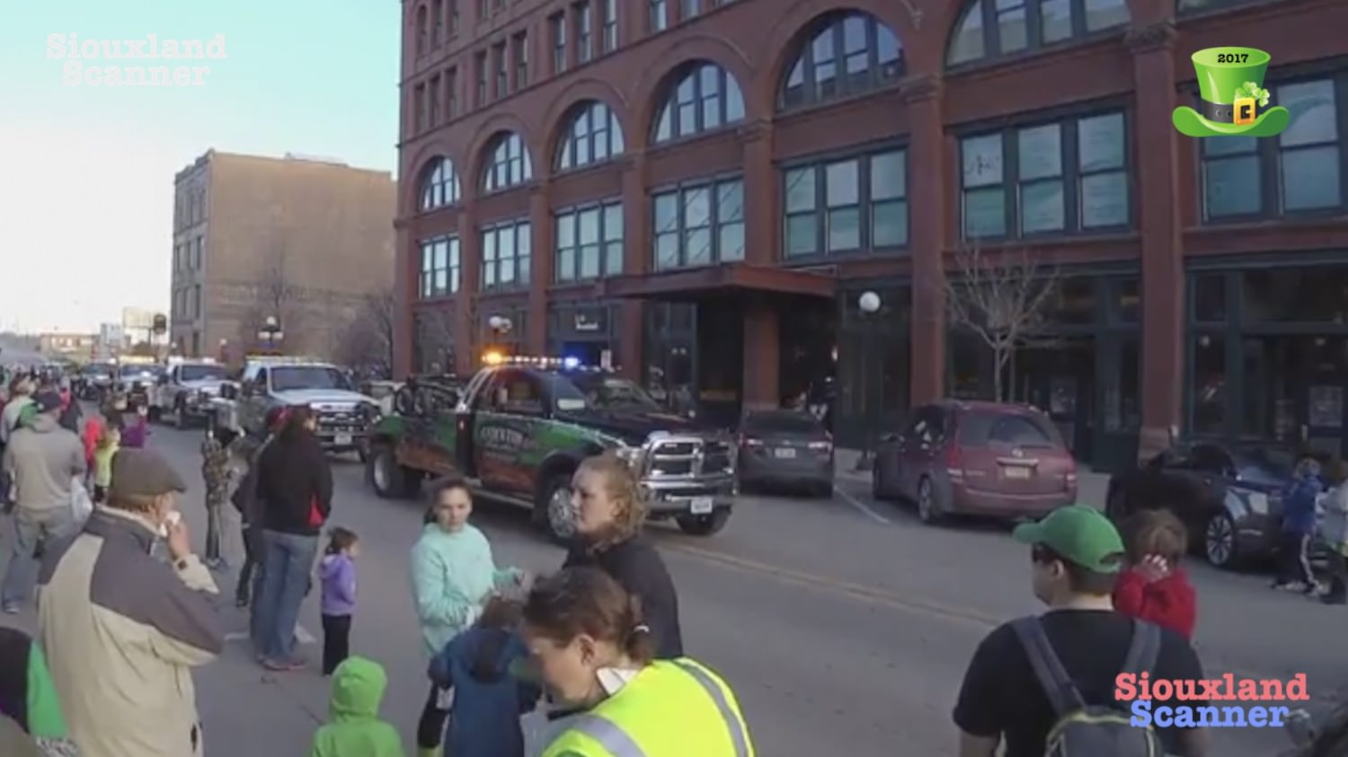 2017 St Patricks Day Parade Downtown  Sioux City