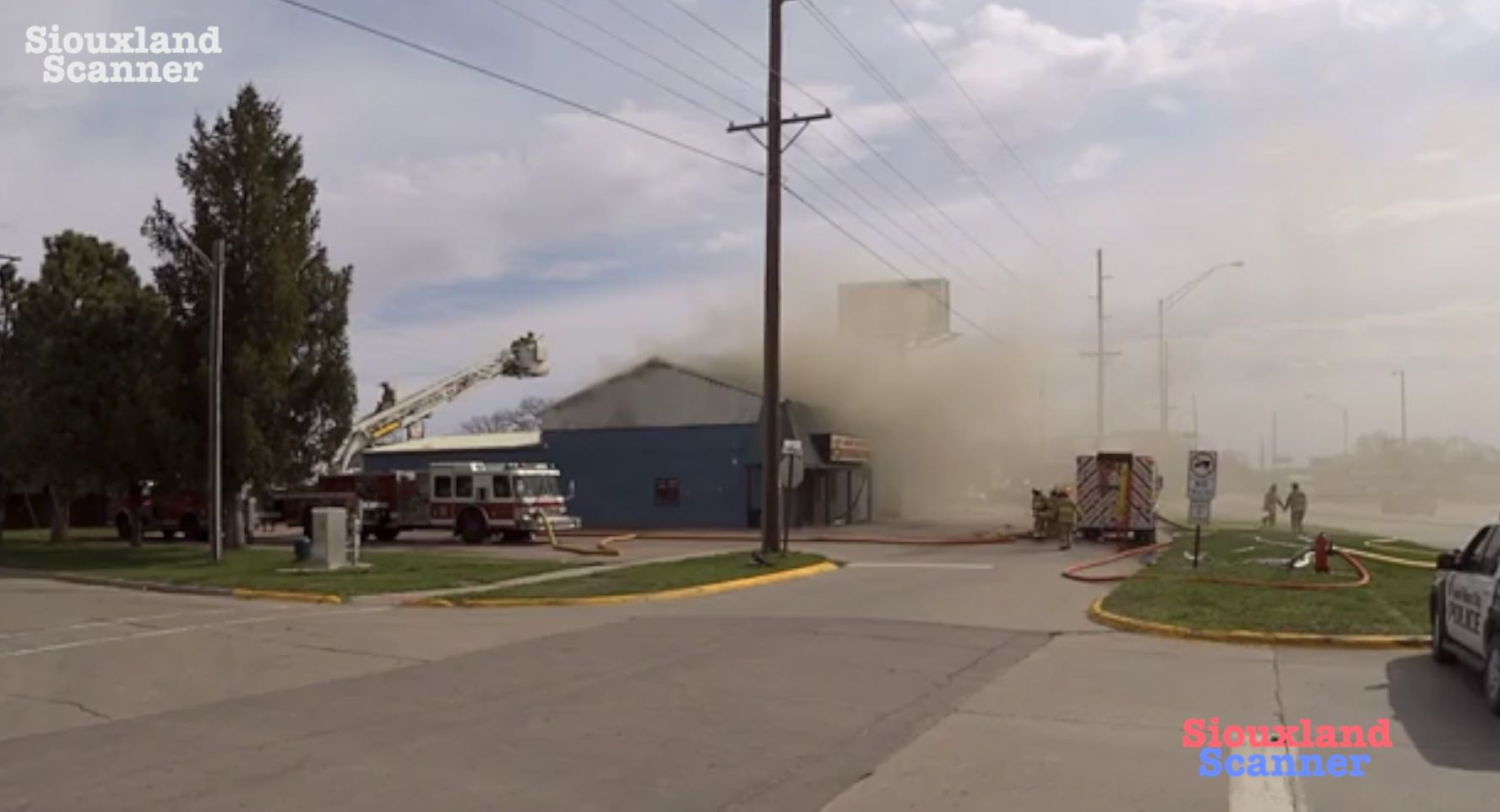 Morning fire at Laos Asian Market in South Sioux City Nebraska