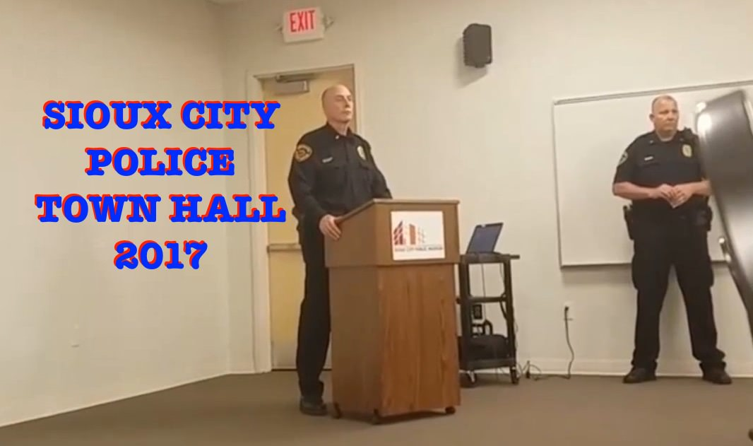 Police use of force Myths and Realities Sioux City Town Hall 2017