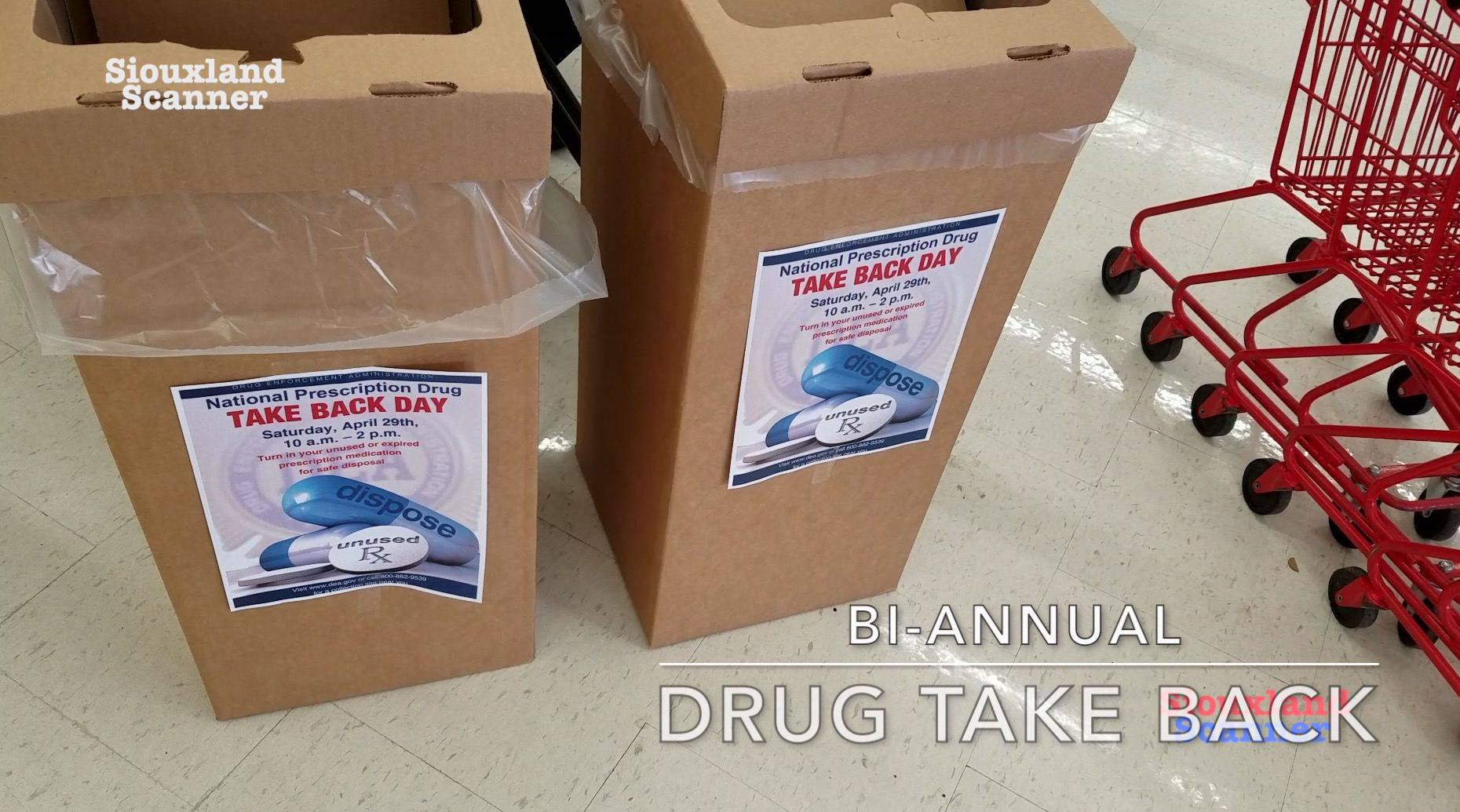 Bi-Annual Prescription Drug Take Back April 2017