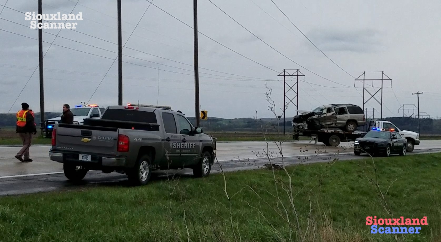 Semi and SUV collide on Highway 35 Friday afternoon