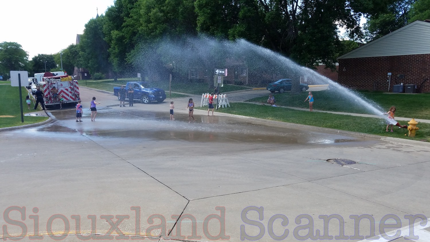 Beat the heat with Sioux City Fire Rescue Hydrant Parties