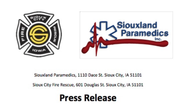 Vague information released from Siouxland Paramedics as they evaluate sustainability