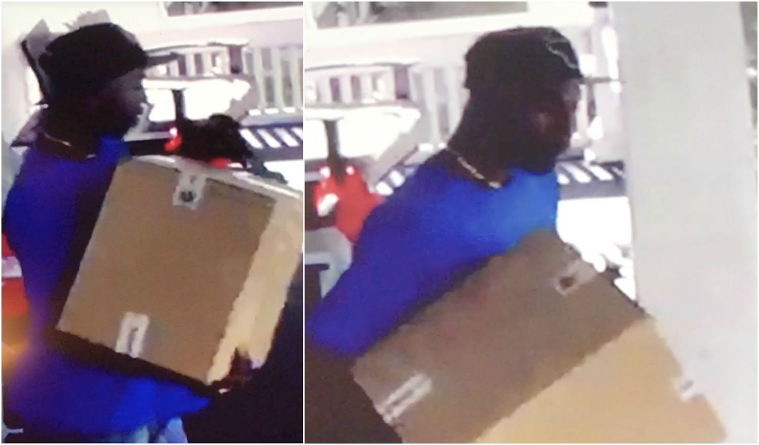 Package theft on Main Street in Sioux City do you recognize this guy