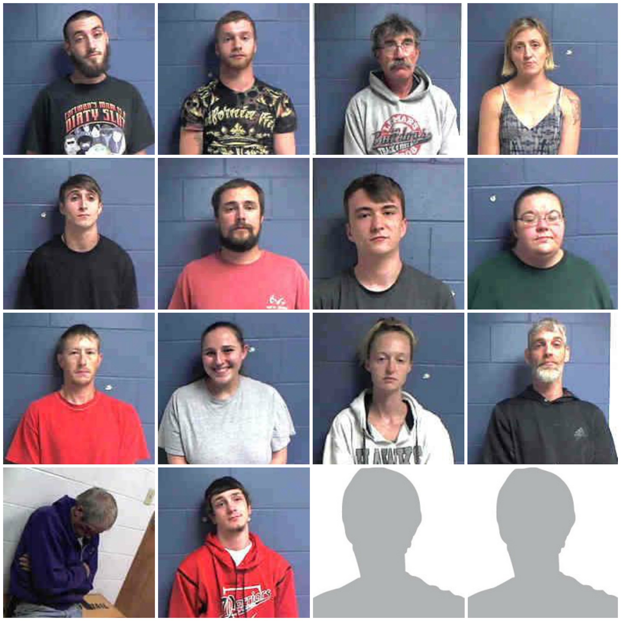 Monona County arrests 16 on possession and distribution of drugs