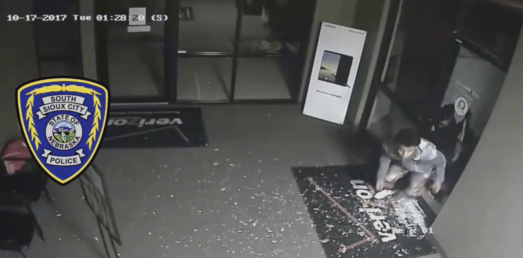 South Sioux Verizon store burglarized police searching for 4 individuals