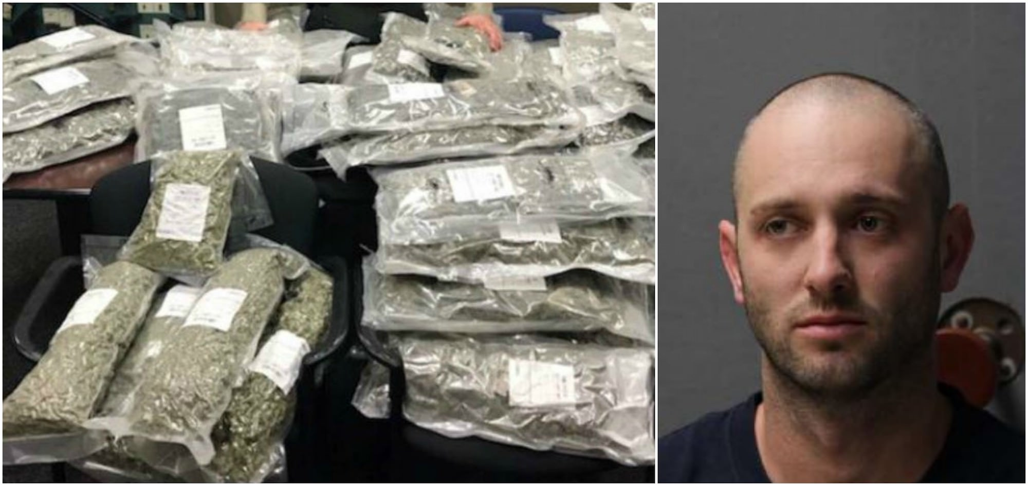 Woodbury County traffic stop leads to drug arrest for 77lbs of marijuana found