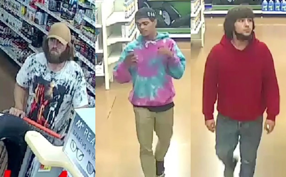 Police looking to identify three suspects in shoplifting case