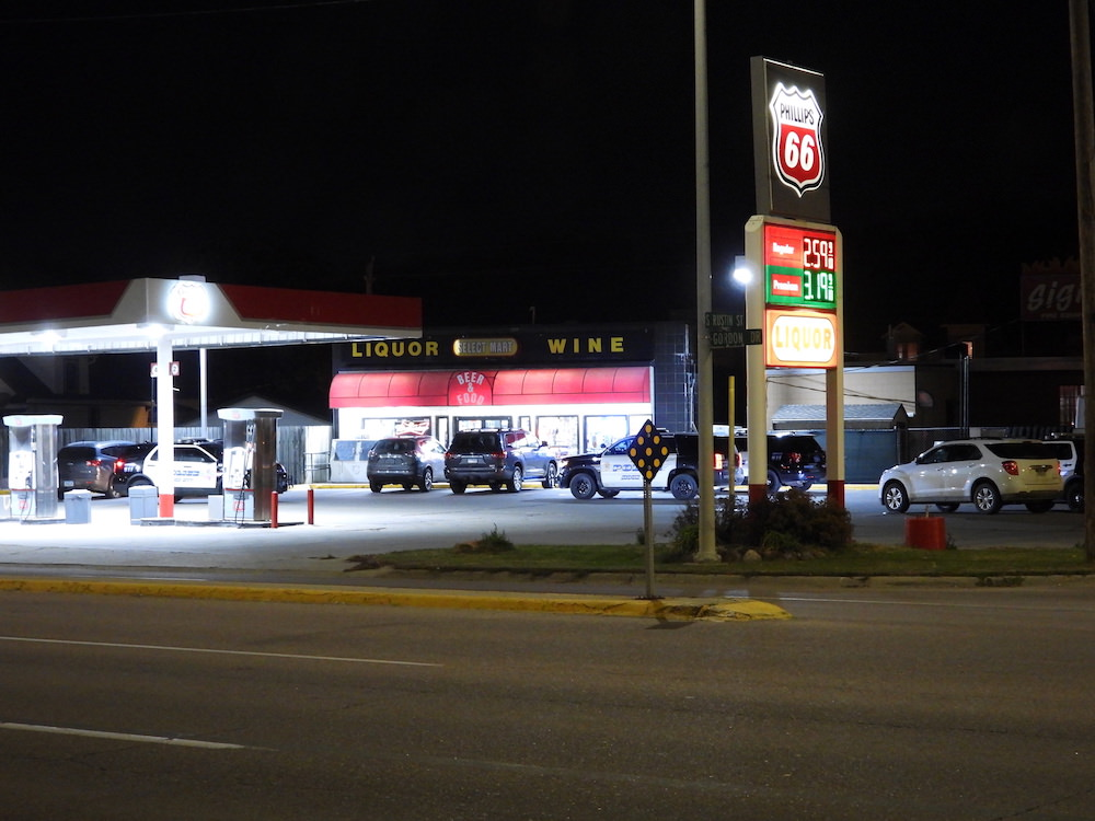 Late Wednesday armed robbery of Select Mart on Gordon Drive