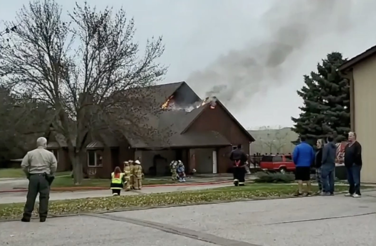 Fire at recently passed Sioux City realtor and developer home being treated as a crime scene