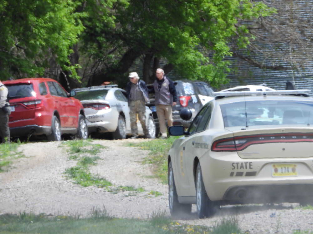 Police respond to man with gun in rural Plymouth County just before noon Monday