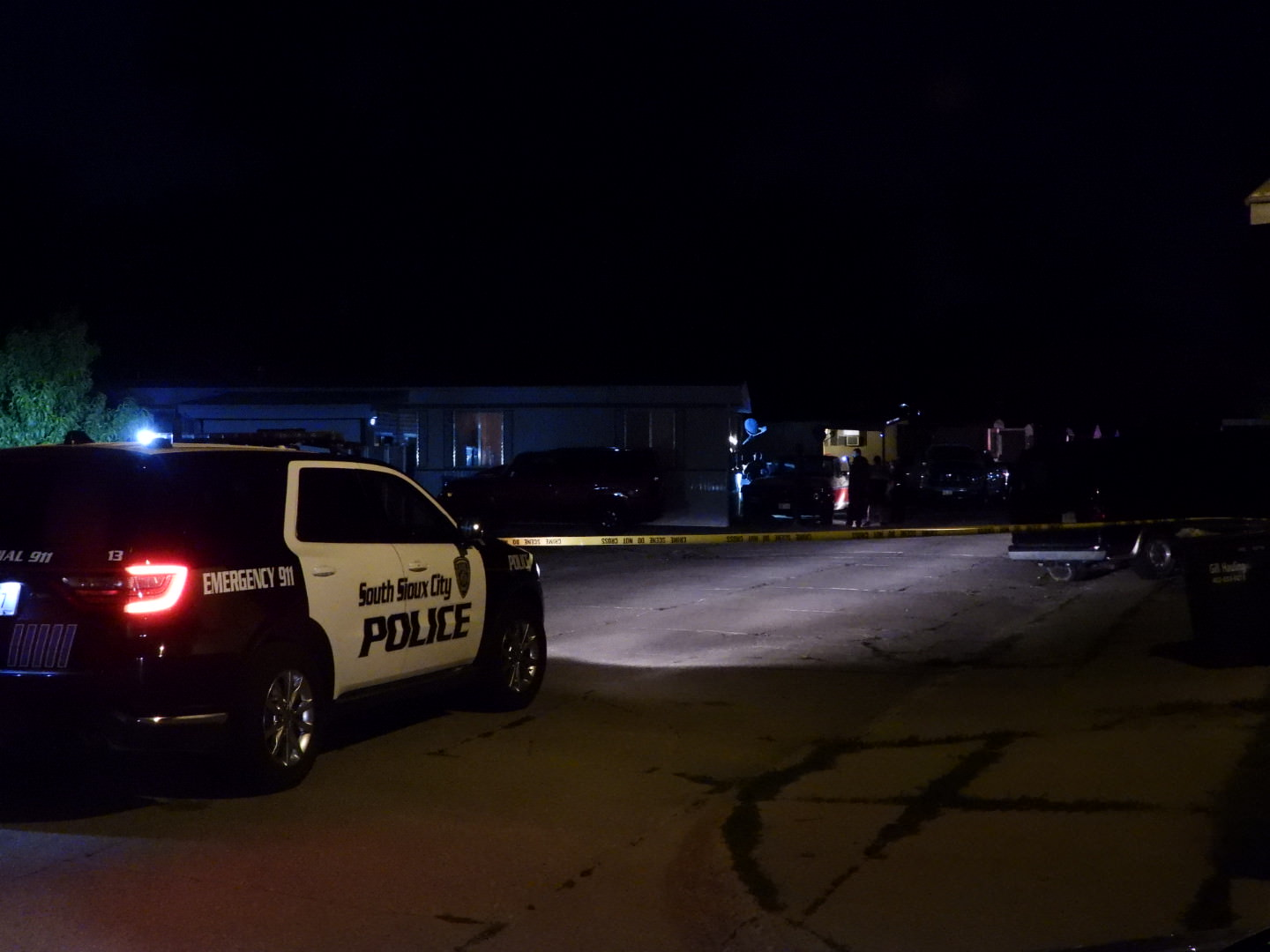 Nobody injuried in South Sioux City Wednesday evening after shots were fired at Parkview