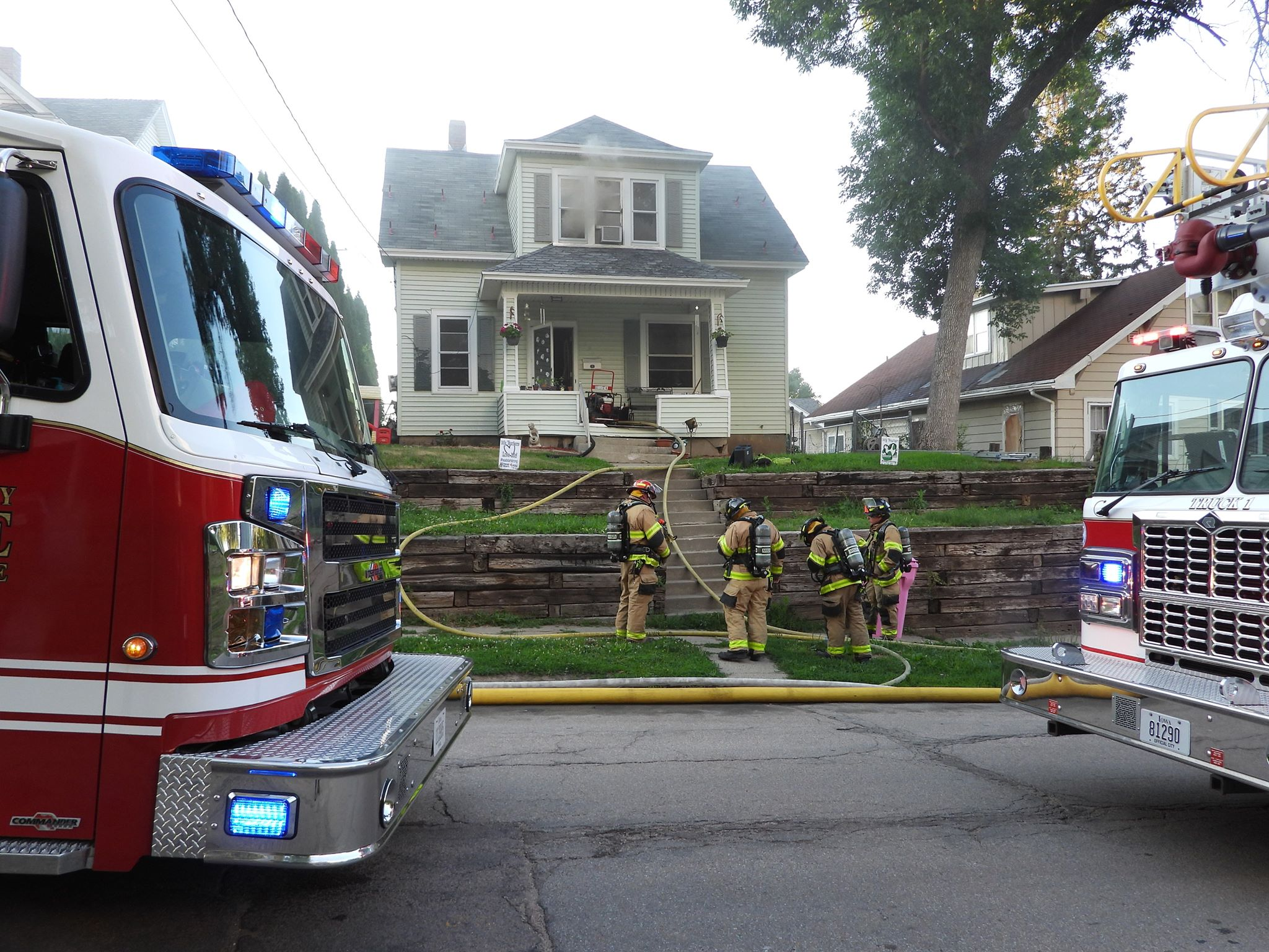 Two Animals Perish In Westside House Fire