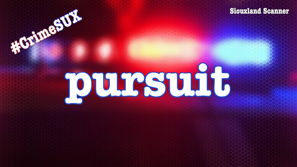 One In Custody After Pursuit of Stolen Vehicle on Sioux Citys Northside