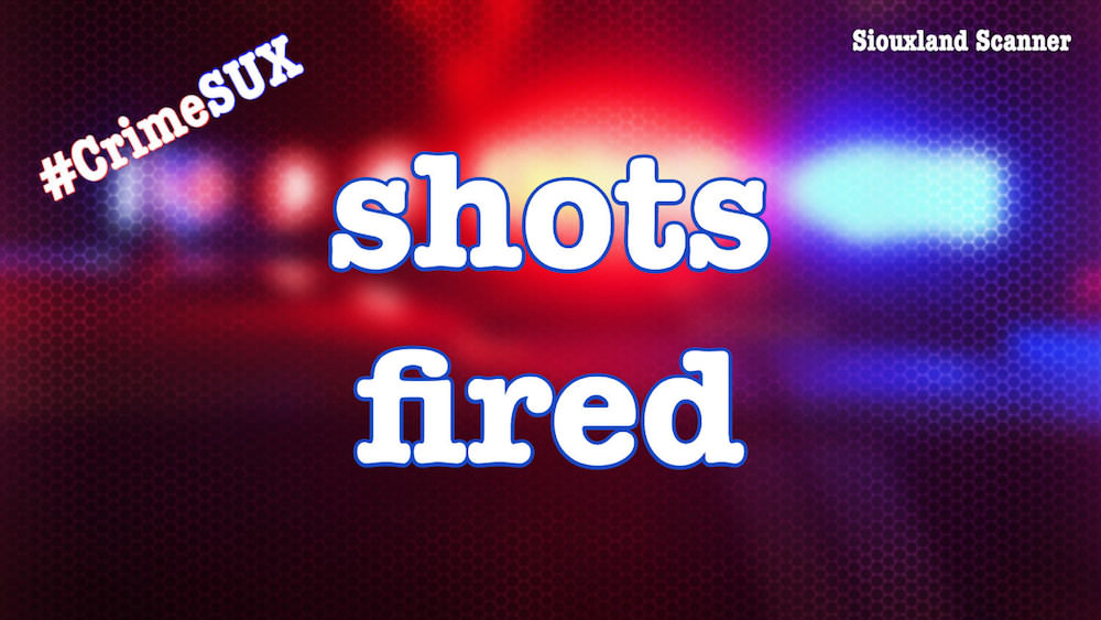Sioux City Police responded to a home hit by gun fire early Friday morning