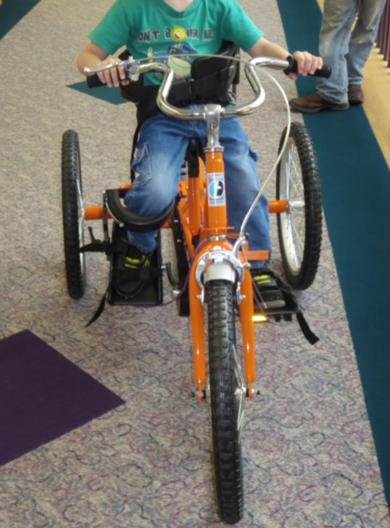 Shriners custom made tricycle stolen from disabled child in Sioux City