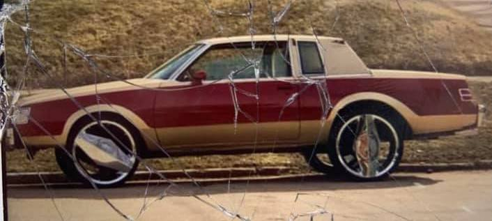 STOLEN 1987 Buick Regal Sioux City Northsie Sunday morning