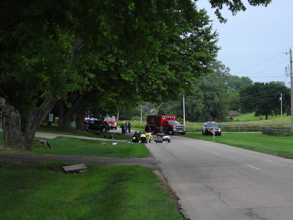 Fatal Memorial Drive Motorcycle Crash in Sioux City on Tuesday