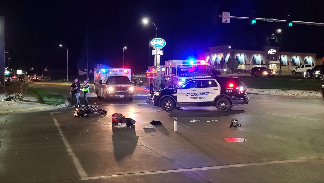 Two Transported to Hospital After Car vs Motorcycle on Hamilton Blvd