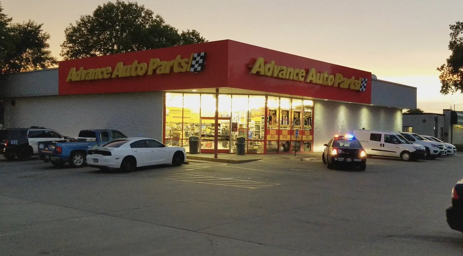 Attempted robbery of Advance Auto on Hamilton Blvd in Sioux City