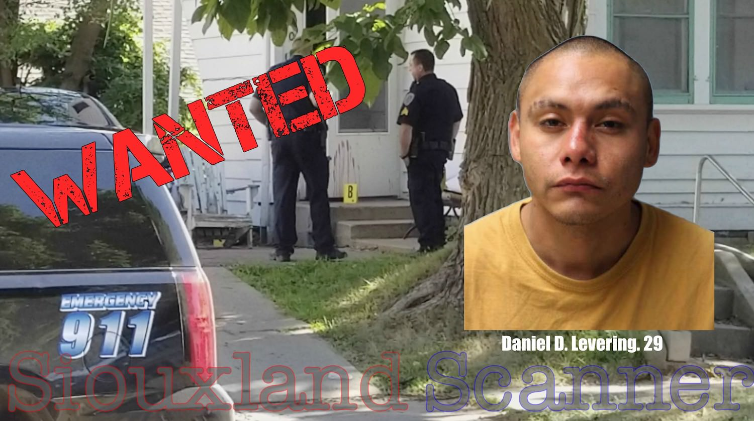 WANTED Sioux City Murder Suspect Daniel Levering