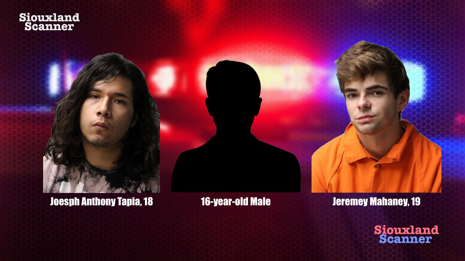 Update Three teens arrested on burglary charges in Sioux City