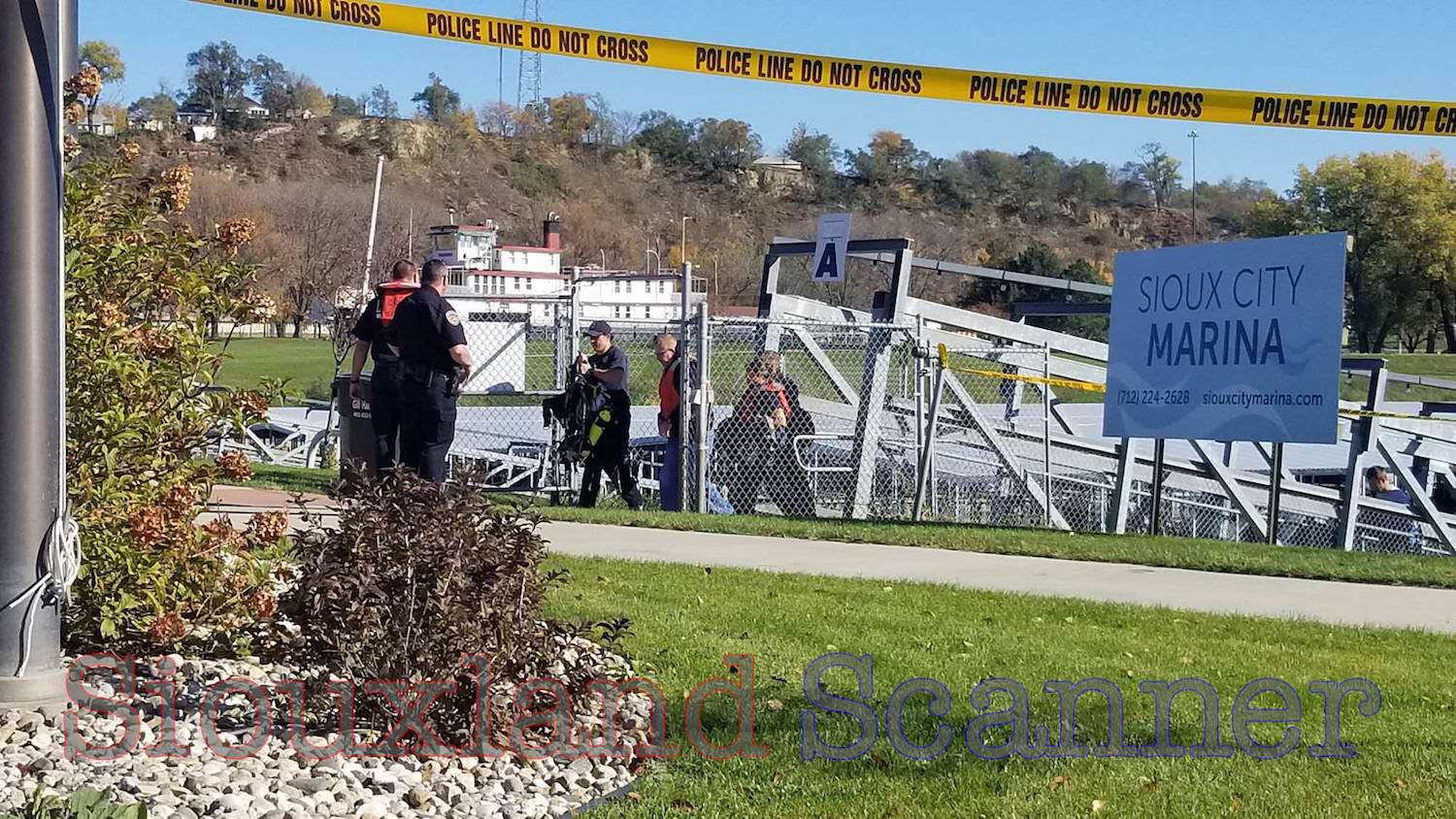 Rescuers respond to Sioux City Marina after witness says man didnt resurface