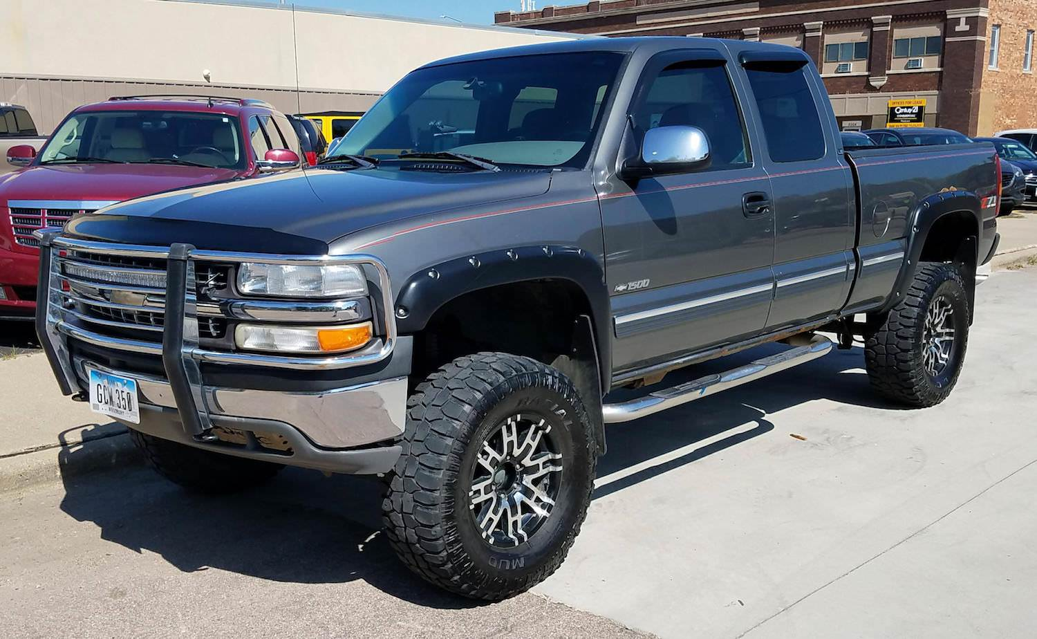 STOLEN Reward Grey 2000 Chevrolet Silverado from Morningside area