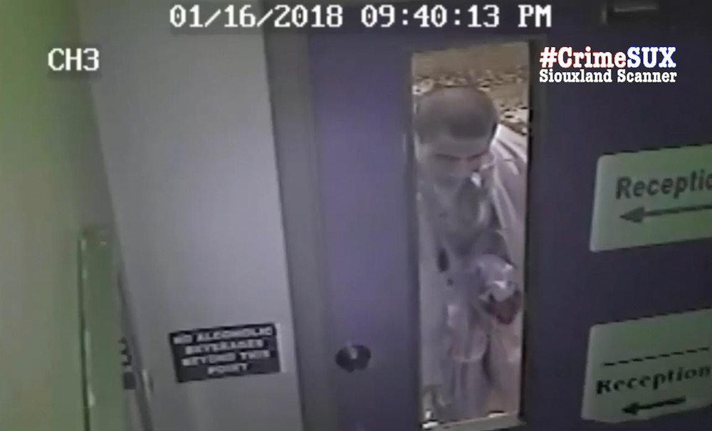 Attempted burglary suspect leaves DNA and and can be seen on camera breaking glass