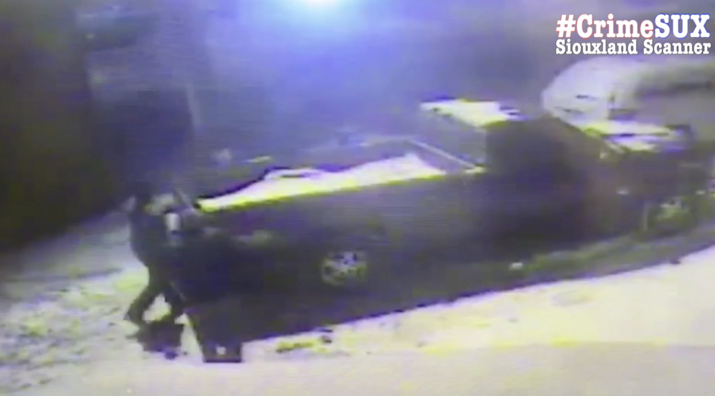 Snowblower theft caught on video do you recognize these thieves or their truck