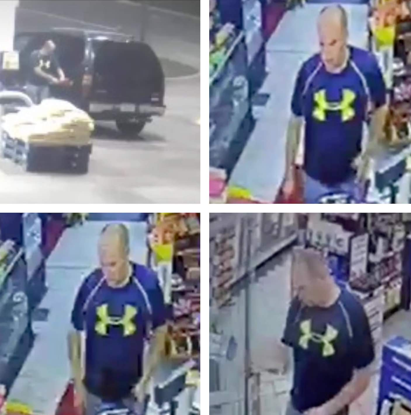 Suspect in multiple incidents of credit card fraud wanted